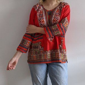 Vintage African Dashiki Tunic